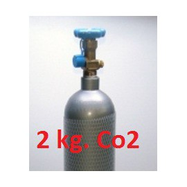 Botella Co2 de 2 kg.