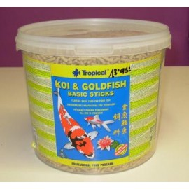 KOI - GOLDFISH sticks 5 lts.