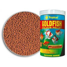 Tropical goldfish color pellet 150 ml