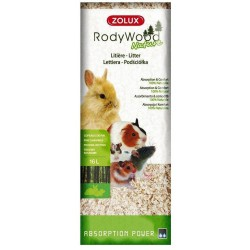 Virutas de madera Rody Wood Nature Zolux 1 kg.